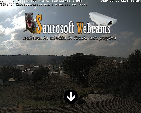 Saurosoft webcams – Webcam Supersano