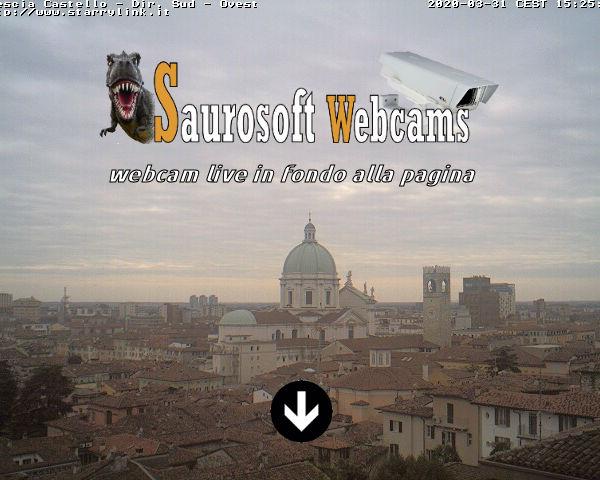 Saurosoft webcams – Brescia Castello