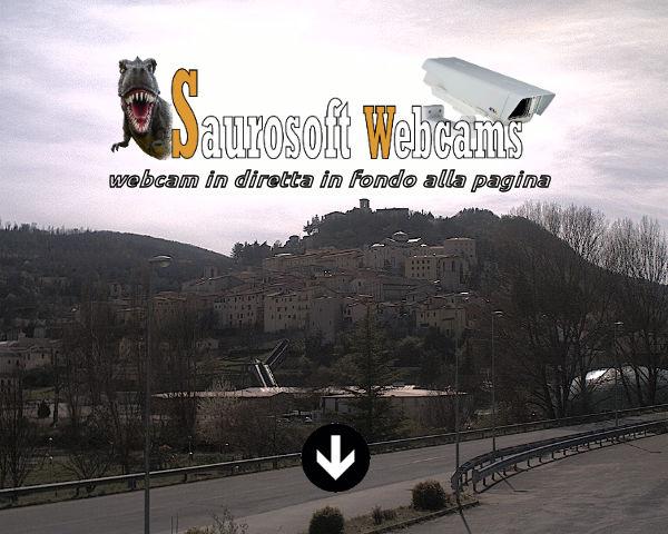 Saurosoft webcams – Cascia (PG)