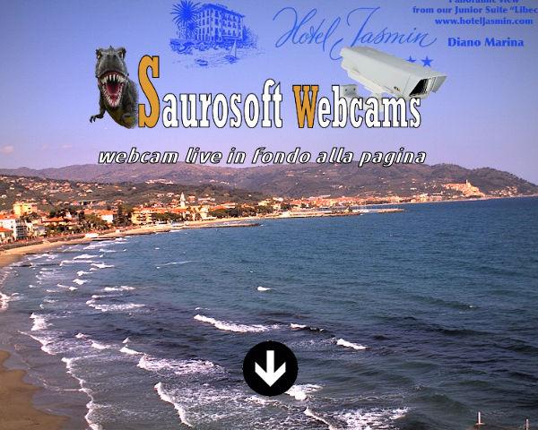 Saurosoft webcams – Diano Marina