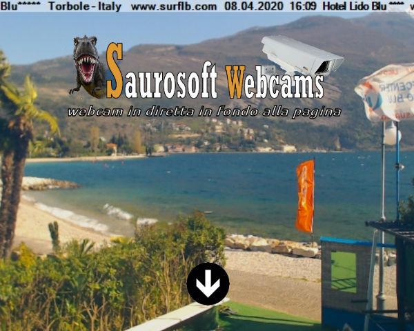Saurosoft webcams – Webcam Hotel Lido Blu