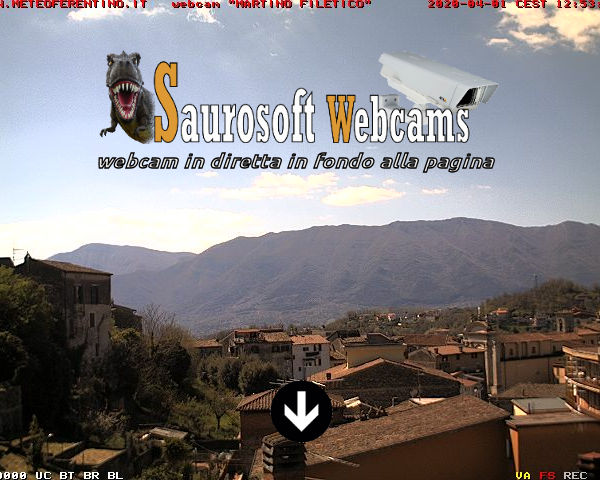 Saurosoft webcams – Meteo Ferentino