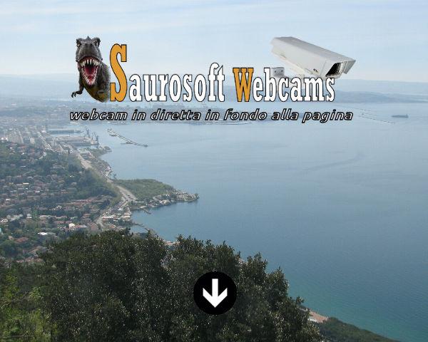 Saurosoft webcams – Trieste (TS)